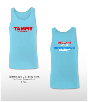 LIGHT BLUE TANKS