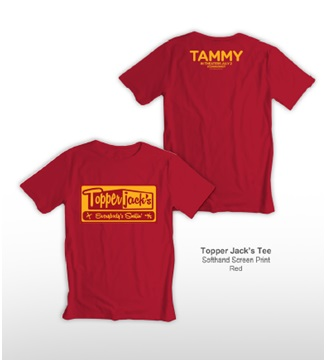 TOPPER JACK RED TEE